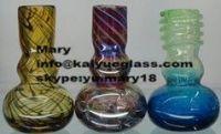 Glass smoking pipes with animal KYG0503