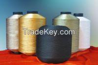 100% Polyester Twisted Yarn
