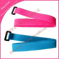 velcro strap with plastic buckle