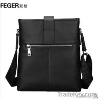 Korean Style Genuine Leather Men Messenger Bag