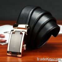 Automatic Buckle Men Leather Belt