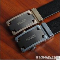 Automatic Buckle Men Leather Belt