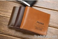 durable 2014new style men leather wallet