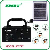 small solar lighting system for home appliance AT-777