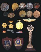 metal crafts medal badge