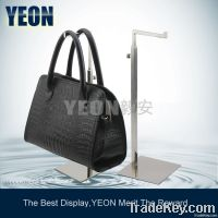 YEON wholesale stainless steel polish handbag display stand rack