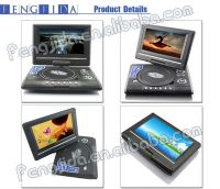 wholesales 7.8inch 3D portable dvd with tv & game function