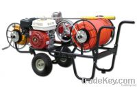 Mobile spray unit moving motor type fight drugs