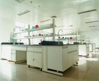 Industrial Lab Furniture Acid Alkali Resistance Work Top Wooden Cabinet