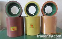 New design 6 inch color rubber roller for rice sheller