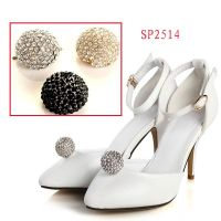 Sparking rhinestone clip ,shoe buckle on ladies shoe