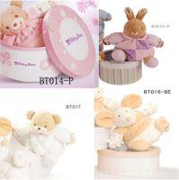 Baby cotton velvet plush toy, bear, mouse, bunny