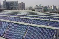 Westech heat pipe solar installation solar water heater project
