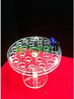 Acrylic crystal detachable E cig display stand,