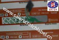 scratch off label