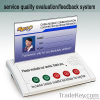buttons type customer feedback system terminal
