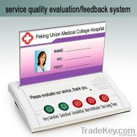 customer feedback and rating system device