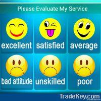 customer satisfaction survey equipment
