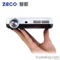 Video Full hd 1080p Portable 3D Cinema Projector Convert 2D to 3D Mini