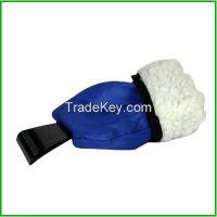 Hot In Russia Mini Car Snow Scraper, Ice Scraper With Glove, snow brush, Car Scraper