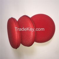 Red Wax Applicator, Car Polish Pad, Cleaning Pad, Detailing Jewelling Applicator Pads