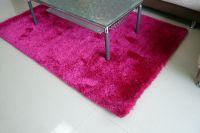 polyester shaggy carpet,polyester silk carpet,floor mat,H8 elastic with 300D carpet