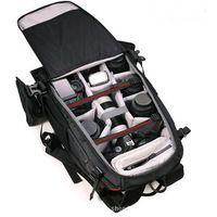 Enhanced security SLR camera bags