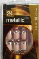 metallic artificial nail