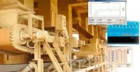 Belt scale batching control system