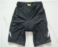 Mens cycling short with padded