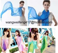 printing high fashion custom-made scarf for promotion