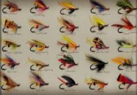 Artificial fishing Flies