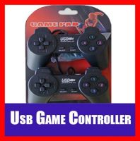 2x (Two pieces) USB PC Computer Laptop Set Vibration Gamepad Controller Gaming Pad Joystick