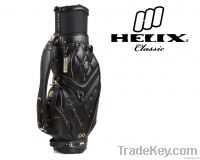 Helix Cow Leather Golf Cart Bag