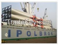 Sea freight services of break bulk vsl&Ro-Ro vsl---China to Africa