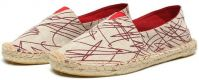 canvas casual rope sole lace up flat footwear shoes for girls womens