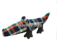Amy carol printcloth dog toys with squeaker inside