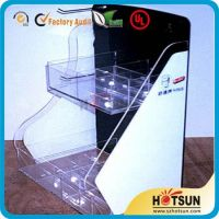 acrylic/PMMA display stand with tiers