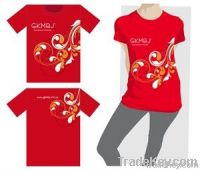 Logo printing Advertising AD T-shirts Cotton Promotion Tee