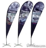 Outdoor Promotion Flying Flags Beach Flag(Teardrop/blade, etc)