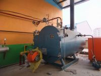 WNS type, Oil fired hot water boiler