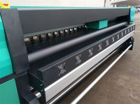 3.2m High Speed Outdoor Solvent Printer with Konica 512i heads 160m         /h by 4heads
