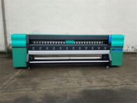 3.2m High Speed Outdoor Solvent Printer with Konica 512i heads 160m²/h by 4heads