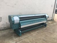 3.2m High Speed Outdoor Solvent Printer with Konica 512i heads 320m²/h