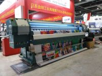 3.2m High Speed Outdoor Solvent Printer with Konica 512i heads 320m    /h