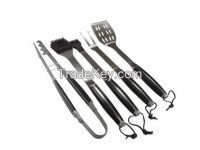 stainless steel BBQ tool set accessaries with POM handle