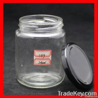 240ml round glass jars for