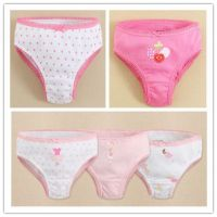 Baby Girl's cotton underwear kids girl underpants high quality