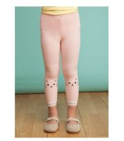 Girl spring&summer leggings baby girl cute lace slim cotton trousers in stock