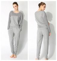 Women's spring&autumn pajamas Lady's long sleeves cotton nightwear sets adult's sleepwear